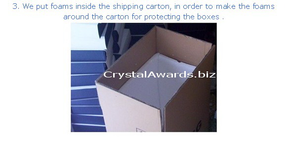 presentation box for crystal awards and gifts