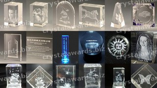 crystal trophies and awards