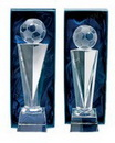 crystal sports trophies